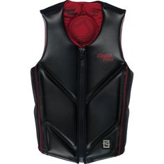 Liquid Force Happy Hour Comp Life Vest Red