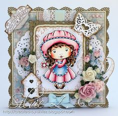 If you are looking for my Saturated Canary card for the Ribbon Girl challenge, please click HERE.Hello,