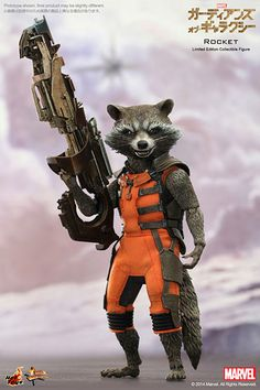 Movie Masterpiece - Guardians of the Galaxy 1/6 Scale Figure: Rocket