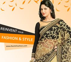 Reinvent your fashion and style with Rachit Fashion and its huge clothing arena. Shop saree at www.rachitfashion.com  #fashion #lookfamous #style #clothing #ladiesfashion