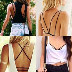 Be Model: DIY | Sutiã strappy bra