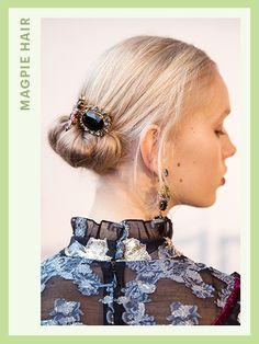 Fashion Week Hair - Erdem | allure.com