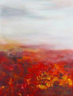 "Saatchi Art Artist Angela Lindenlauf; Painting, ""ARREBOL - Sold"" #art"