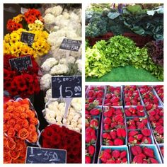 Farmers market!  We both enjoy our weekend drives & stopping at the Farmers Markets<3