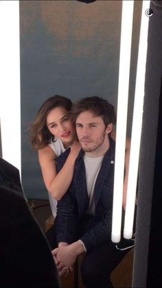 Emilia Clarke & Sam Claflin en shooting pour Me Before You !