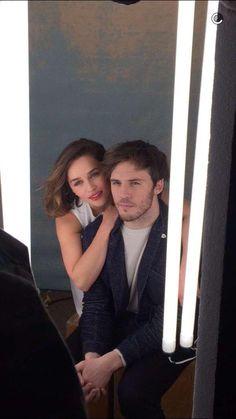 Emilia Clarke & Sam Claflin en shooting pour Me Before You !