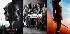 Guardians of the Galaxy Vol. 2, Wonder Woman   Assassin's Creed