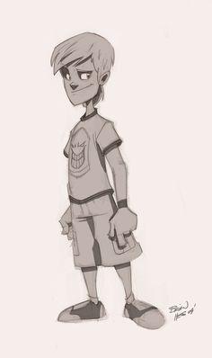 More unused character designs by Hesstoons on deviantART