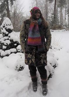 Vaateviidakko: Lumisateessa Diy Clothes, Mma, Winter Jackets, Coats, Fashion, Diy Clothing, Winter Coats, Moda, Wraps