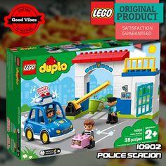 LEGO 10902 Police Station DUPLO Mainan Kantor Polisi Anak Original #thekingbricks #theking #thekingid #kingbricks #gvonline #uhappyihappy #tokolegoterpercaya #tokomainanoriginal #lego10902 Lego Duplo Sets, Police Station, Lego City, Lego Star Wars, Nerf, Avengers, The Originals, Toys, Activity Toys