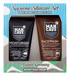 From 16.91:Mancave Natural Supreme Skin Care Gift Set