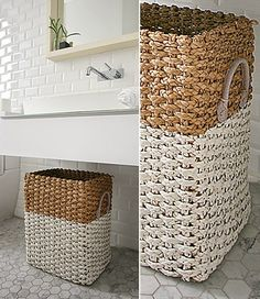 Build House Home: Dipped basket diy with Annie Sloan chalk paint