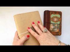 Faux Midori Rraveller's Notebook - DIY Super Simple Organizer