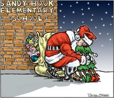 Mike Graston's Colour Cartoon For Saturday, December 15,2012