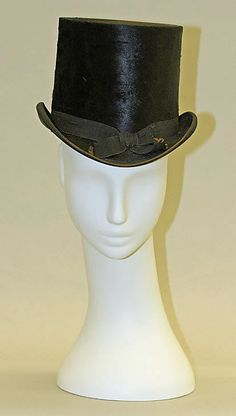 Riding Hat    Date:      ca. 1865  Culture:      American