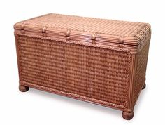 Seagrass Storage Trunk #trunk #seagrass #bedroom
