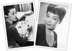 Jackie Ormes was the 1st Black woman to write & draw a widely distributed comic Strip. After graduation she began working as a proofreader for the Pittsburgh Courier (once the country's largest black newspaper). There she created her 1st cartoon (Torchy Brown in Dixie to Harlem) I'm 1937. The Courier distributed to 14 black papers making the Ms Ormes the 1st Black woman to become a syndicated cartoonist. She was the only one until the 1990's. Torchy touched on issues such as sexism, racism…