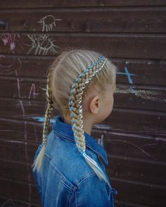 Five strand pigtails with ribbon edges. This is inspired by the amazing @pr3ttygirl79  . I made a video tutorial on this style. It will be posted soon! . #braid #braids #braided #braiding #braidideas #braidsforgirls #ribbonbraid #flette #flechten #vlechten #peinado #plait #tresse #trenza #hair #hår #haare #hairdo #hairstyle #hairofinstagram #hairoftheday #hairpics #hairpost #fivestrandbraid #pigtails #blondehair #ribbon #cghphotofeature