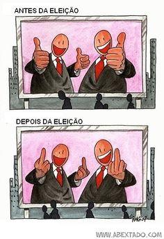 Eleições - Antes e Depois
