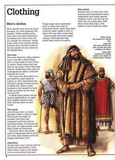 Men's clothing in biblical times