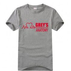 Grey's Anatomy Personalized ECG T-shirt