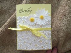 Gorgeous card by a fellow Stampin' Up Addict