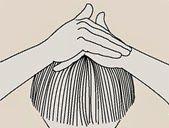 masser son cuir chevelu, pousse de cheveu; masseur capillaire, massage capillaire, activer la pousse