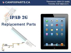 Get 100% original #ReplacementParts for #iPad2G at Canfixparts.ca! Reach us at +1 647-860-2271 / 604-721-8495 http://ow.ly/wl1J30fPeGI