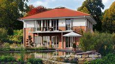 Eine Stadtvilla ist der Inbegriff für ästhetisches Wohnen.-Haacke Haus:Stadtvilla, Architektenhaus, Passivhaus, Effizienzhaus, Exklusivhaus