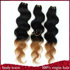 Queen Berry rosa hair products 5pcs lot grade 5a unprocessed blonde ombre brazilian virgin hair two tone body wave human hair $96.00 - 143.00