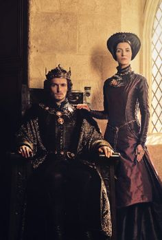 Henery the VII and Margret Beufort in the White Princess