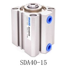 14.00$  Buy now - 1 Pcs SDA40-15 Stroke Stainless steel Pneumatic Air Cylinder  #shopstyle