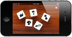 Story Dice iPhone / iPad / iPod app for young writers, story telling, travel, etc. $0 (free today only)