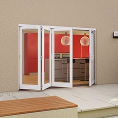 JELD-WEN offers a comprehensive range of folding sliding patio doors which provide a quality finish and wow factor to your home. Folding Patio Doors, French Doors Patio, Darwin, Modern Farmhouse, Garage Doors, Outdoor Decor, Home Decor, Decoration Home, Room Decor
