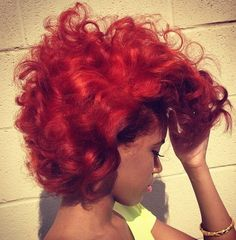 The Color Is Fire... Literally! - http://www.blackhairinformation.com/community/hairstyle-gallery/relaxed-hairstyles/color-fire-literally/