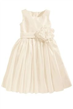 Buy Ivory Silk Bridesmaid Dress (3-16yrs) from the Next UK online shop
