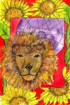 lion par Cathie Richardson