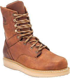 Georgia Boots G8152 - Georgia Men's 8 Inch Wedge Boot Style