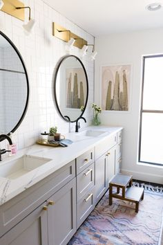Gentry Kids and Master Bath Reveal - Little Green Notebook