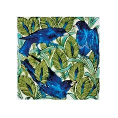 William de Morgan birds tile