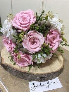 Bouquet flores preservadas.