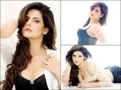 Magazine Cover: Zarine Khan Sizzles In Denim And Crop Top For FHM Magazine!