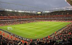 Emirates Stadium Holloway London HD Widescreen Wallpaper