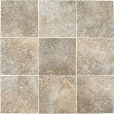 alternative floor, or other color backsplash - Daltile - Valtellina - glazed porcelain - valley stone field tile mosaic VA08 - various sizes, colors, brick-joint