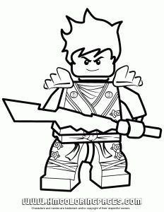 Ausmalbilder Ninjago Lego