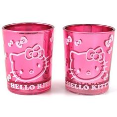 Hello Kitty Candle Holders