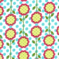 Items similar to Mod Blooms in Aqua Knit Fabric from Patty Young on Etsy Canadian Quilts, Fabric Canada, Fabric Photography, Quilt Material, Michael Miller Fabric, Fabric Suppliers, Barn Quilts, Pretty Patterns, Fabulous Fabrics