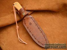 Funda para cuchillo de taramundi troquelada