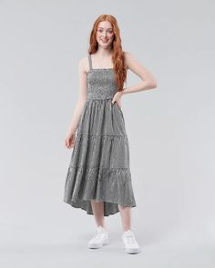 Robes Midi, Girls Dresses, Summer Dresses, Rompers, Cute, Clothes, Vintage, Style, Fashion