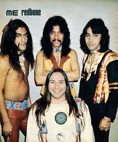 'Come and Get Your Love': Meet Redbone, the world's first Native American rock group | Dangerous Minds. Great article plus videos. Don't miss the cartoon.